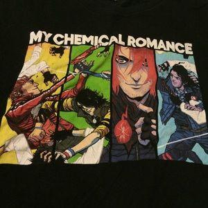 My Chemical Romance band t shirt